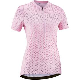 Gonso Giustina Maglia da ciclismo a maniche corte con mezza zip Donna, rosa
